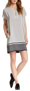 Vince short dress COASTAL COMBO 100% Silk on Tradesy