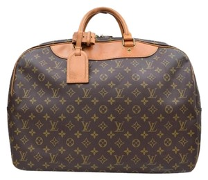 Louis Vuitton Alize Heures Keepall Travel Travel Bag