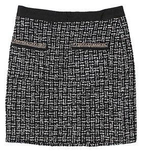 Alex + Alex Tweed Mini Skirt