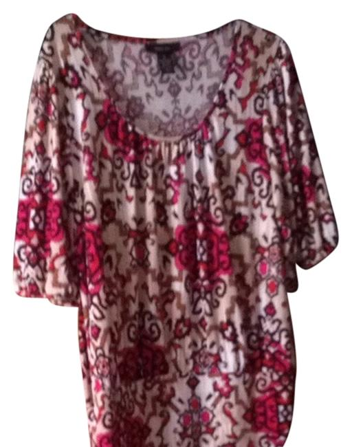 Preload https://item1.tradesy.com/images/style-and-co-pink-purple-and-black-tops-blouse-size-16-xl-plus-0x-1837655-0-0.jpg?width=400&height=650