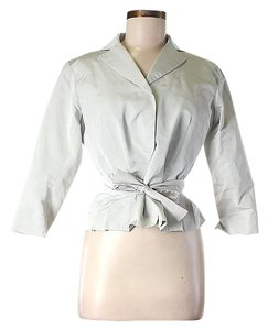 Lida Baday Silk Belted Jacket