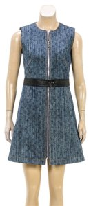 Louis Vuitton short dress Blue on Tradesy