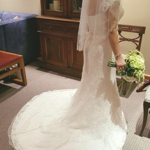 Oleg Cassini Cwg669 From David's Bridal Wedding Dress