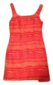 Other short dress Orange Pink White on Tradesy