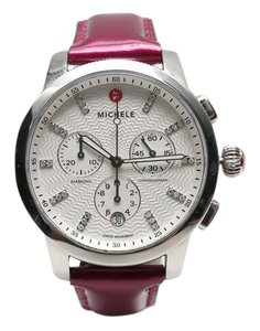 Michele Uptown Diamond 39mm Watch
