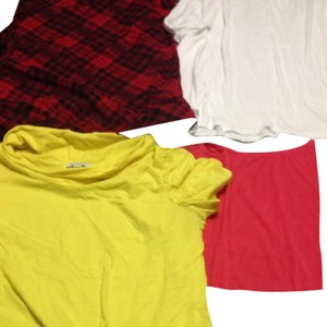 Banana Republic T Shirt Red, White, Yellow, Blue