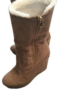 Juicy Couture Taupe Boots