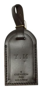 Louis Vuitton Louis Vuitton Damier Ebene Luggage Name Tag