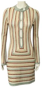 Missoni Sexy Celebrity Cocktail Low-cut Dress