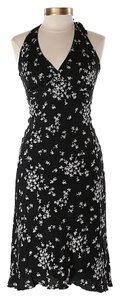 Nicole Miller short dress Silk Floral Tie Halter on Tradesy