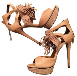 Boutique 9 Tan Platforms