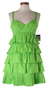 Nanette Lepore Tiered Ruffle Dress