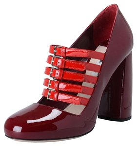 Miu Miu Burgundy/ Red Pumps