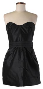 Camilla and Marc Silk Strapless Dress