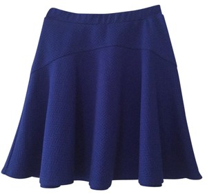 Aqua Mini Skirt Royal Blue