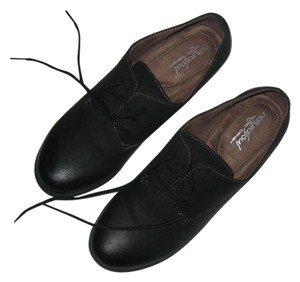 Naturalizer Oxford Lace Up Black Boots