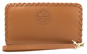 Tory Burch Marion Pebbled Leather iPhone 6 Smartphone Bi-fold Wallet