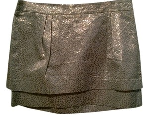 Express Mini Skirt Silver
