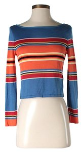 Ralph Lauren Collection Silk Striped Sweater