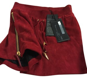 Giuseppe Zanotti Mini/Short Shorts Dark red