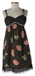 Cynthia Steffe short dress Silk Embellished Floral on Tradesy