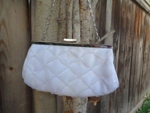 Not Rated White Pearls Veil Wedding Purse