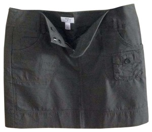 Ann Taylor LOFT Mini Skirt Green