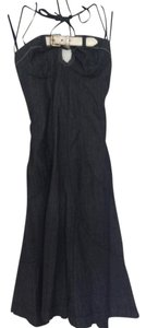 Dark Denim Maxi Dress by Miss Sixty