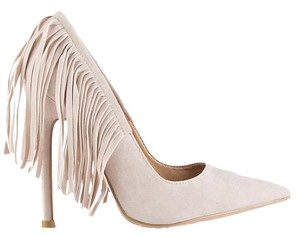 Chase & Chloe Nude Pumps