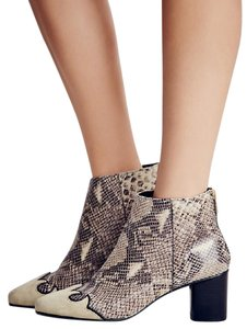 Free People Adelle Snake New In Box Ankle Boots
