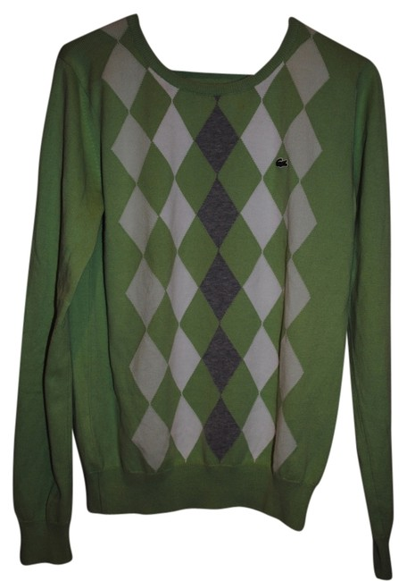 Preload https://item1.tradesy.com/images/lacoste-lime-green-argyle-sweaterpullover-size-6-s-1838295-0-0.jpg?width=400&height=650