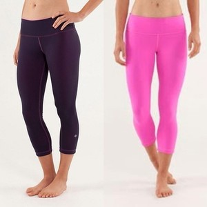 Lululemon Wunder Under Crop Reverse