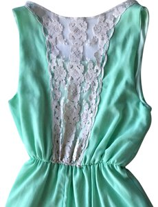 Sage short dress Mint on Tradesy