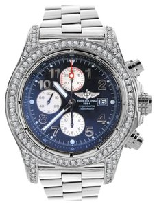 Breitling Breitling A13370 Super Avenger With Customized Diamond Case/Bezel/Lugs