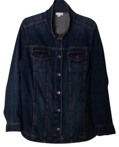 J. Jill Washed denim Womens Jean Jacket