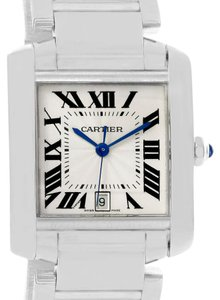 Cartier Cartier Tank Francaise Large 18K White Gold Unisex Watch W50011S3