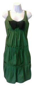 Sonia Rykiel short dress Green Bow Tiered on Tradesy