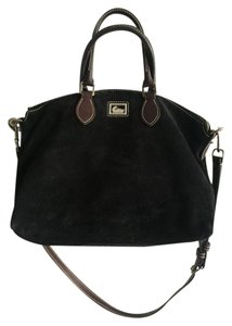 Dooney & Bourke Suede Leather Hobo Bag