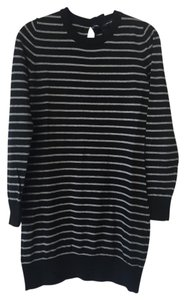 French Connection Striped Sweater Girly Dress