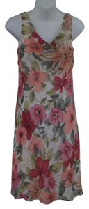 Ann Taylor short dress Multicolor floral print on Tradesy