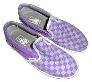 Vans Purple and Gray Athletic