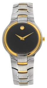 Movado Movado 81 G1 1894 Portico Stainless Steel W/ Yellow Gold Tone Accents