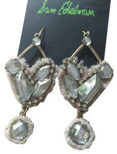 Sam Edelman NWT Sam Edelman Crystal Drop Earrings