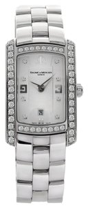 Baume & Mercier Baume&Mercier 8513 Hampton Milleis Diamond Stainless Steel Watch