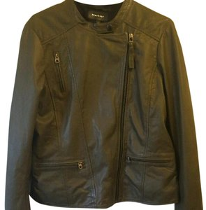 Mackage Leather Green Leather Jacket