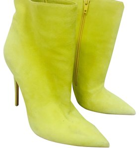 Christian Louboutin So Kate Louboutins Suede Yellow Boots