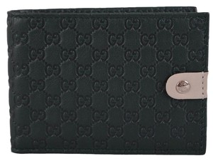 Gucci Gucci Men's 281968 Jolly Micro GG Guccissima Leather Bifold Wallet