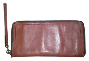 Fossil Leather Travel Wallet