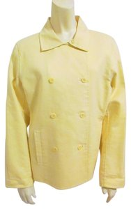 Eileen Fisher Cotton Yellow Jacket