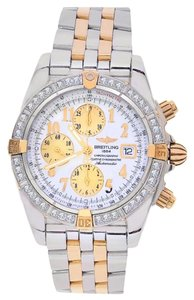 Breitling Breitling B13356 Windrider Evolution Two Tone Customized Diamond Bezel